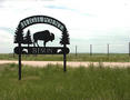#6: Sign at entrance to High Point Bison Ranch
