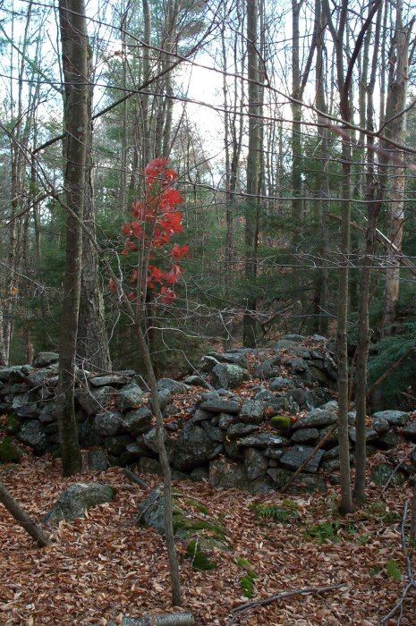The stone wall confluence