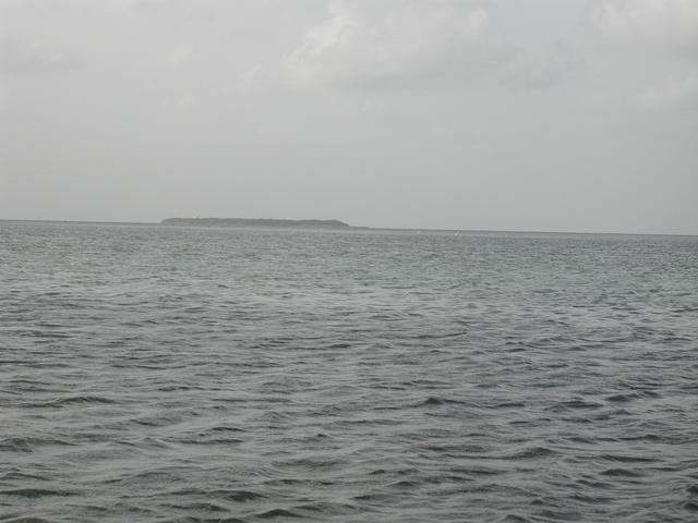 North from the confluence, toward Sandy Key