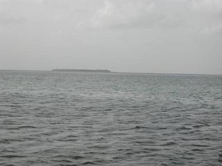 #1: North from the confluence, toward Sandy Key