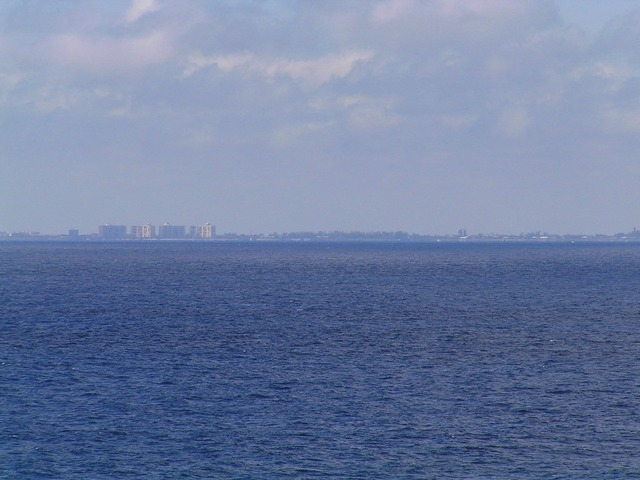 View toward SW