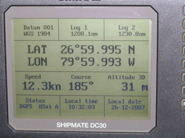 GPS display