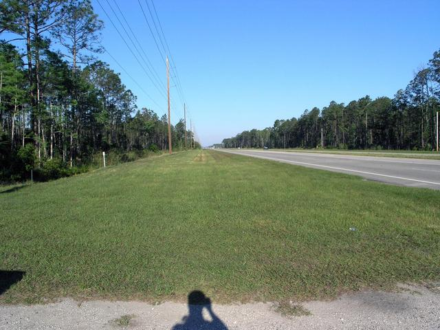 Highway 44 passes 1.4 km from the point