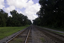#7: Rail track going North