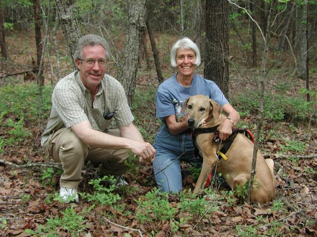 Jim, Bettylou and Rufi at their first conflunce point