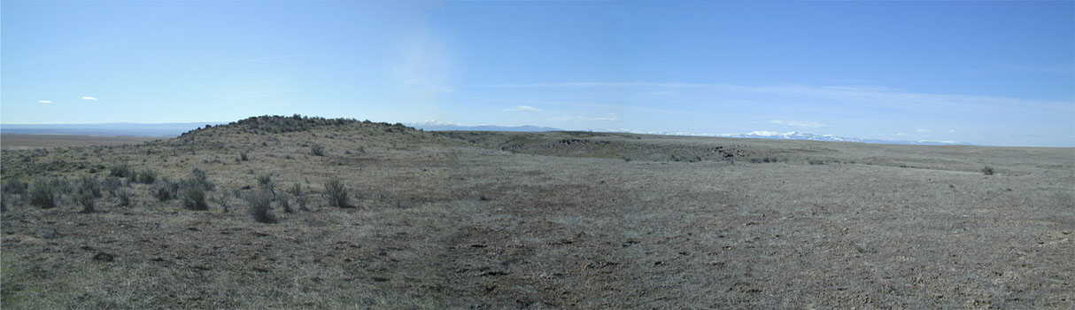 Composite image of view to south and southwest