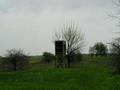#2: looking southwest at a hunter's blind