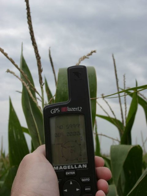 The GPS Receiver, Enshrouded in Corn