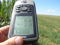 #6: GPS reading near the confluence of 37 North 102 West.