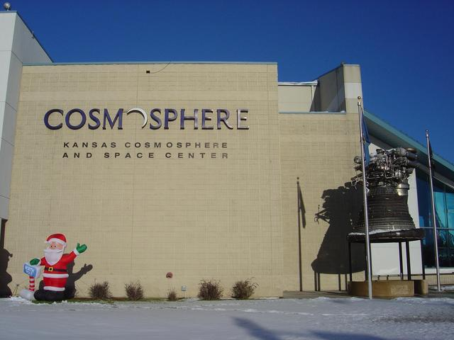 Christmas comes early to the Kansas Cosmosphere