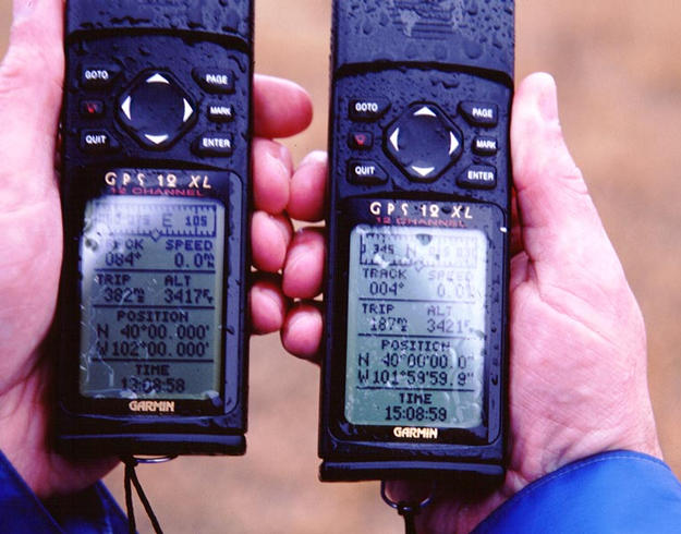 Wet GPS units almost in agreement