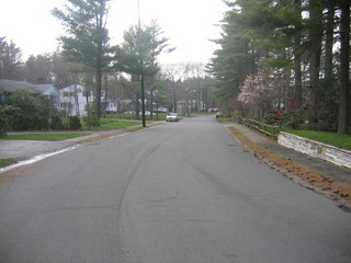 #1: Looking West towards South Street