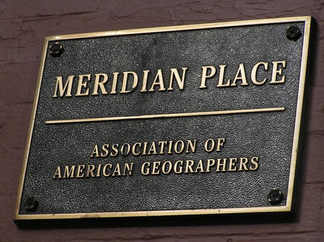 Meridian Place, home of the Association of American Geographers, Washington DC.