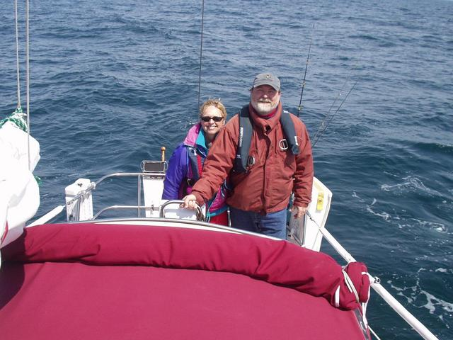 Captain Culver and First Mate Sally