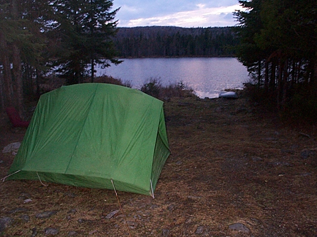 Camp on Williams Pond Just W of Baxter Park