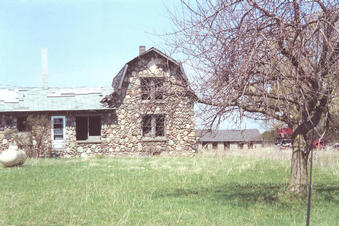 #1: Stone house at the confluence