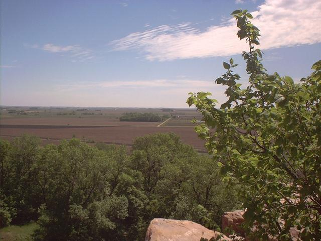 View from Blue Mound