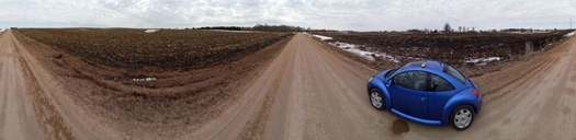 #1: Panoramic Shot from road