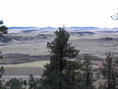 #4: South view from the ridge near the confluence
