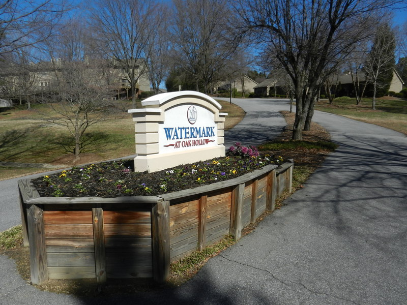 Entrance sign off Centennial Street