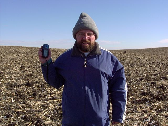 Jim, North Dakota, and a GPS