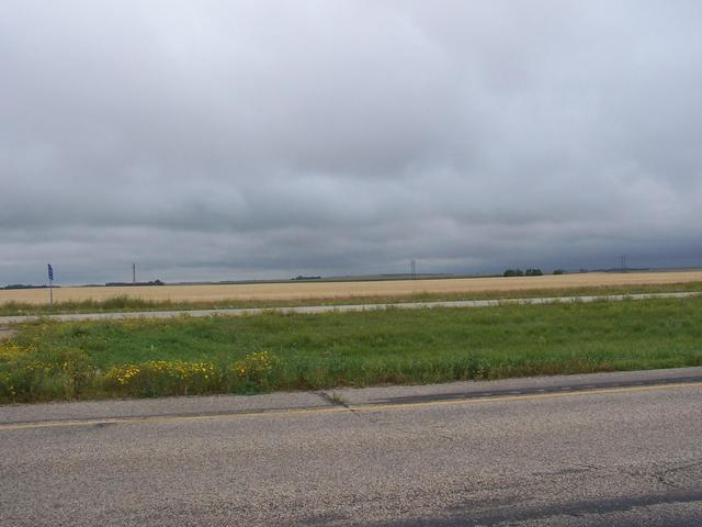 Looking South from Highway 2 near Rugby.