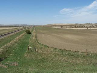 #1: Overview looking west with CP in approximate center.  Fort Union can be seen in the distance.