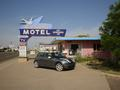 #9: MINI Cooper at the Blue Swallow Motel in Tucumcari