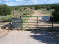 #9: Access to point was through this gate