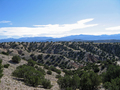 #10: East from trail at crest of hill above confluence