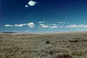#1: This plateau of shortgrass stretches north until the plateau is dissected by Chaco Canyon