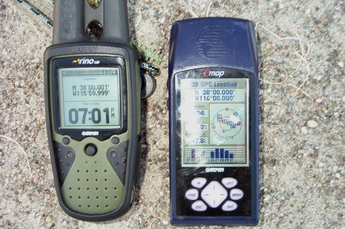 GPS record of confluence