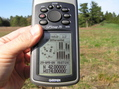 #3: All zeroes on the GPS receiver at the confluence.