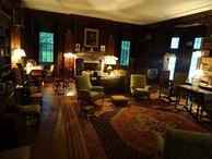 #8: FDR living room (FDR used to build himself his wheelchair)