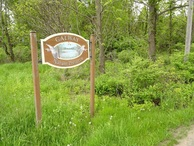 #6: Galway Nature preserve trail head