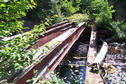 #6: Destroyed bridge at the end of the road