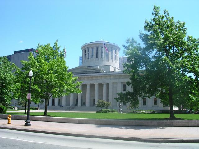 Drive-by shooting of the Ohio state capitol