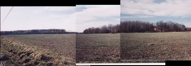 Panorama of land surrounding N39 W84