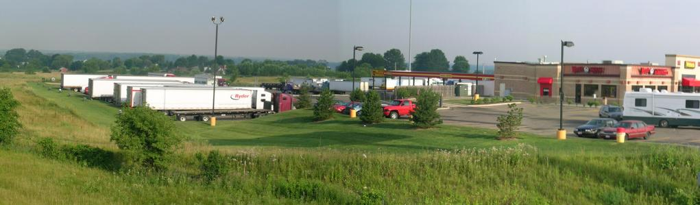 CP from I71 – exit 203 (north east)