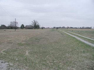 #1: Area of the confluence in field behind house