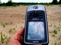 #5: GPS receiver at the confluence point.  Victory!