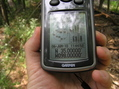 #6: GPS receiver at the confluence point.