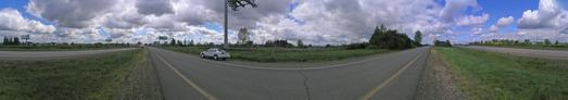 #1: 360 degree panorama from the confluence