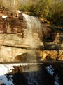 #10: NC's Bridal Veil Falls on the way to 35N 83W (Note rainbow on roadway)
