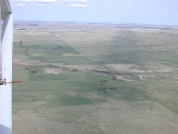 Aerial photo looking ESE