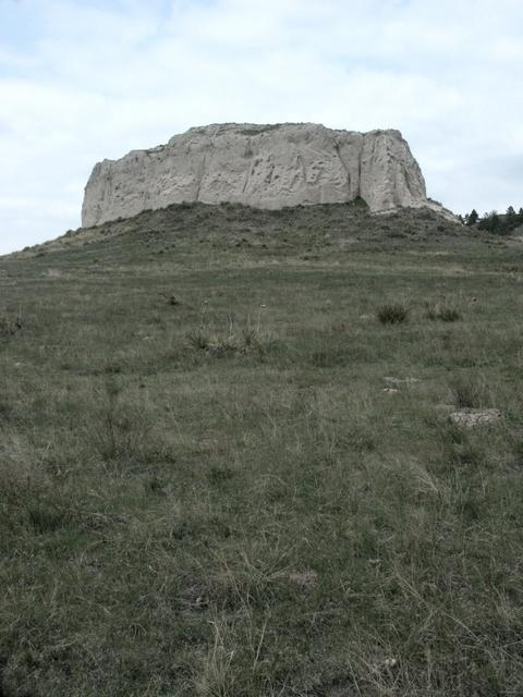 A butte near the confluence