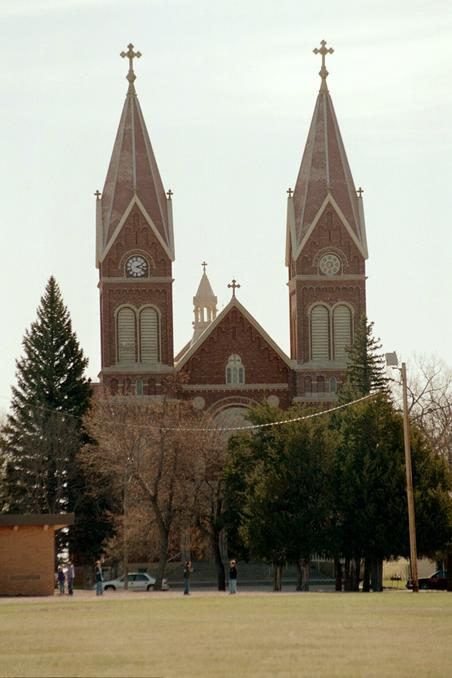 Cathedral on the Prairie in nearby Hoven, SD