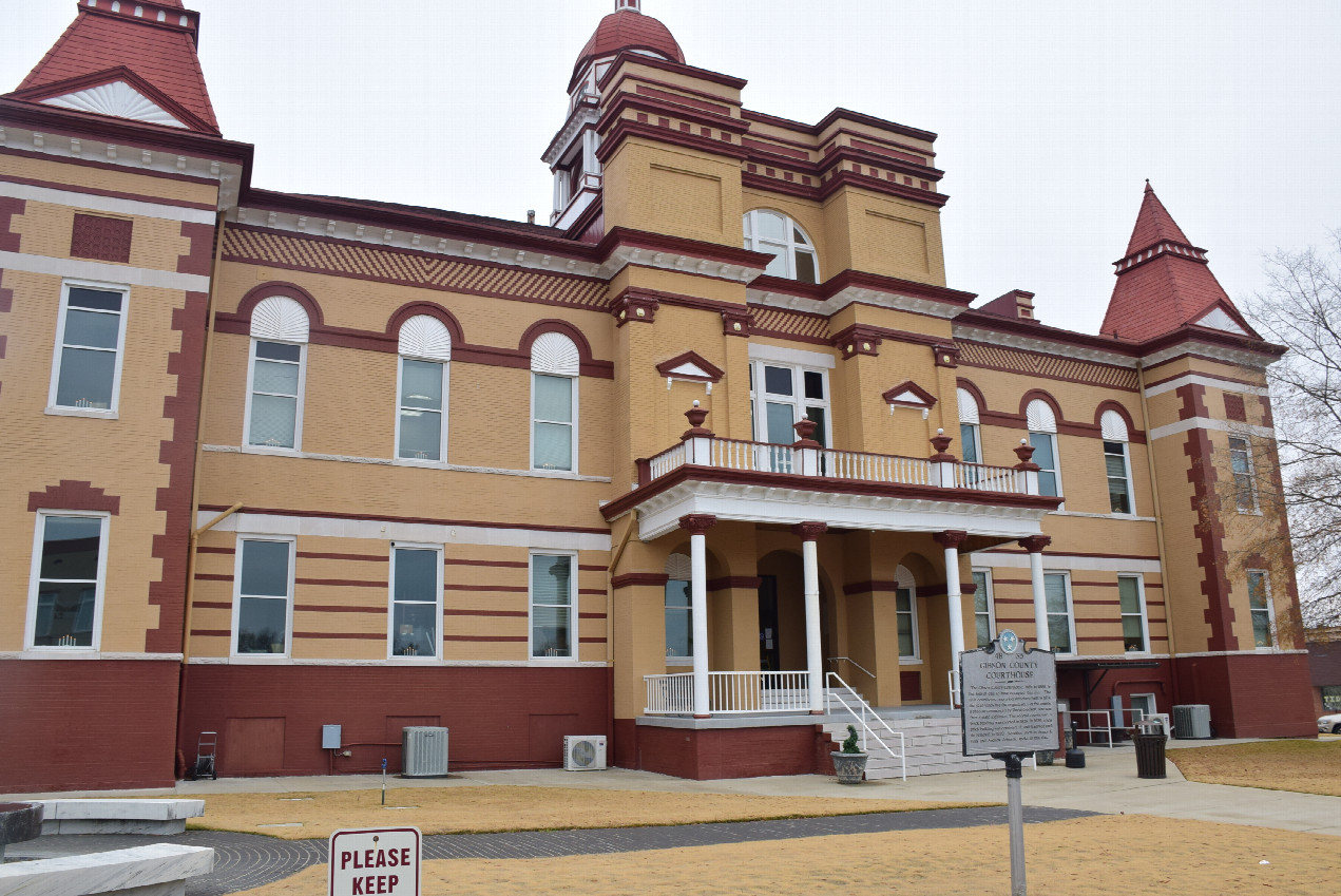 Gibson county court house at Trenton
