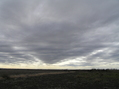 #5: Texas sky and landscape in this view from the confluence to the southwest.