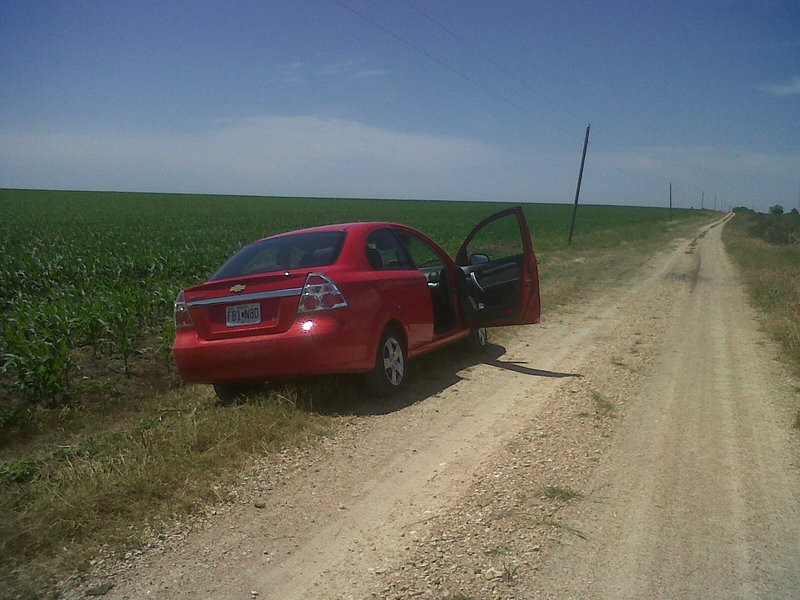 Here I parked on CR143